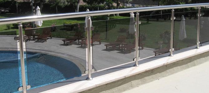 Aluminium railing systems 4