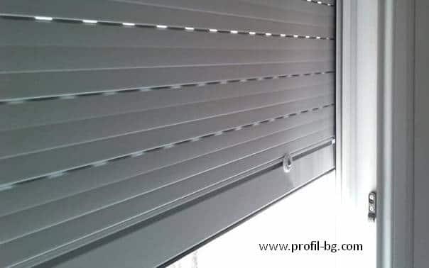 External roller blinds 8