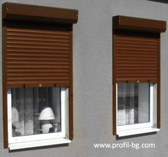 External roller blinds 11