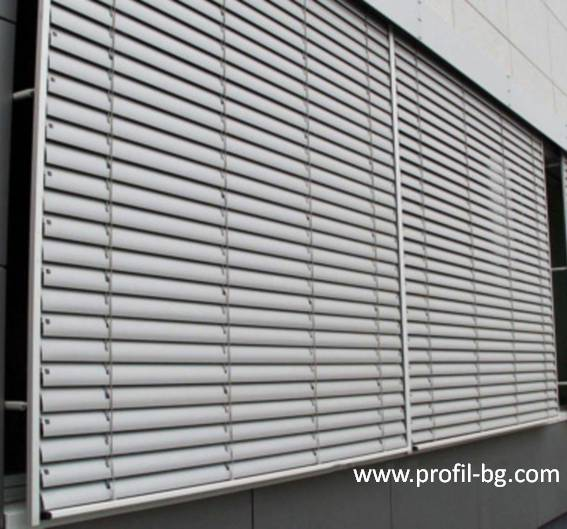Exterior venetian horizontal blinds 17