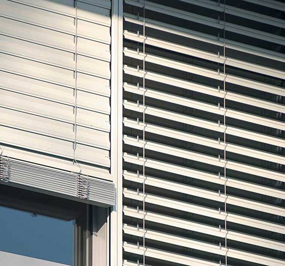 Exterior venetian horizontal blinds 15