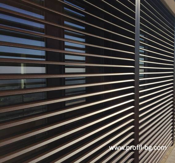 Exterior venetian horizontal blinds 4
