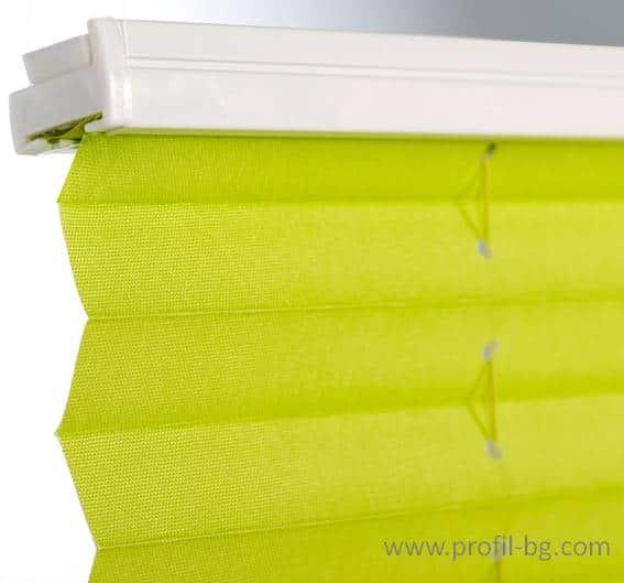 Plisse blinds 10