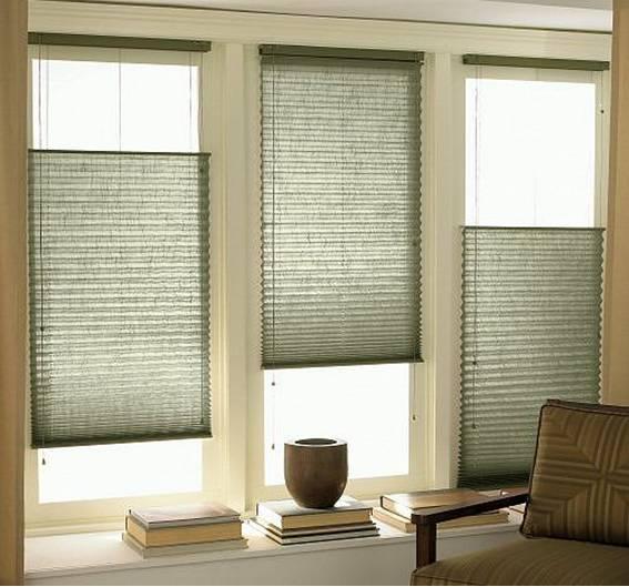 Plisse blinds 7