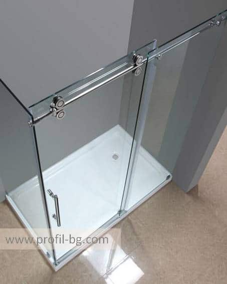 Glass shower cabin and glass shower enclosure 28