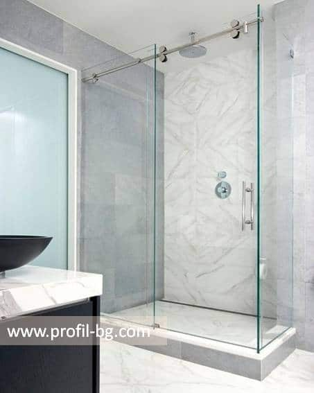 Glass shower cabin and glass shower enclosure 29