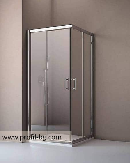 Glass shower cabin and glass shower enclosure 30