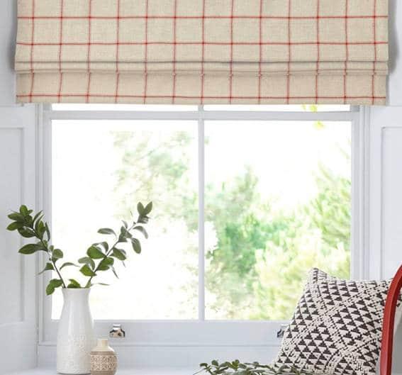 Roman style blinds 7