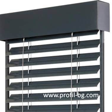 Exterior venetian horizontal blinds 12
