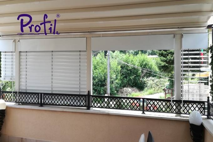 Exterior venetian horizontal blinds 20