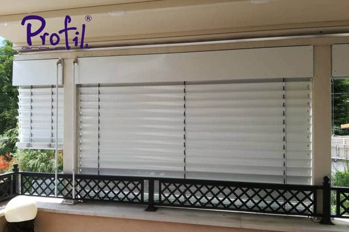 Exterior venetian horizontal blinds 21