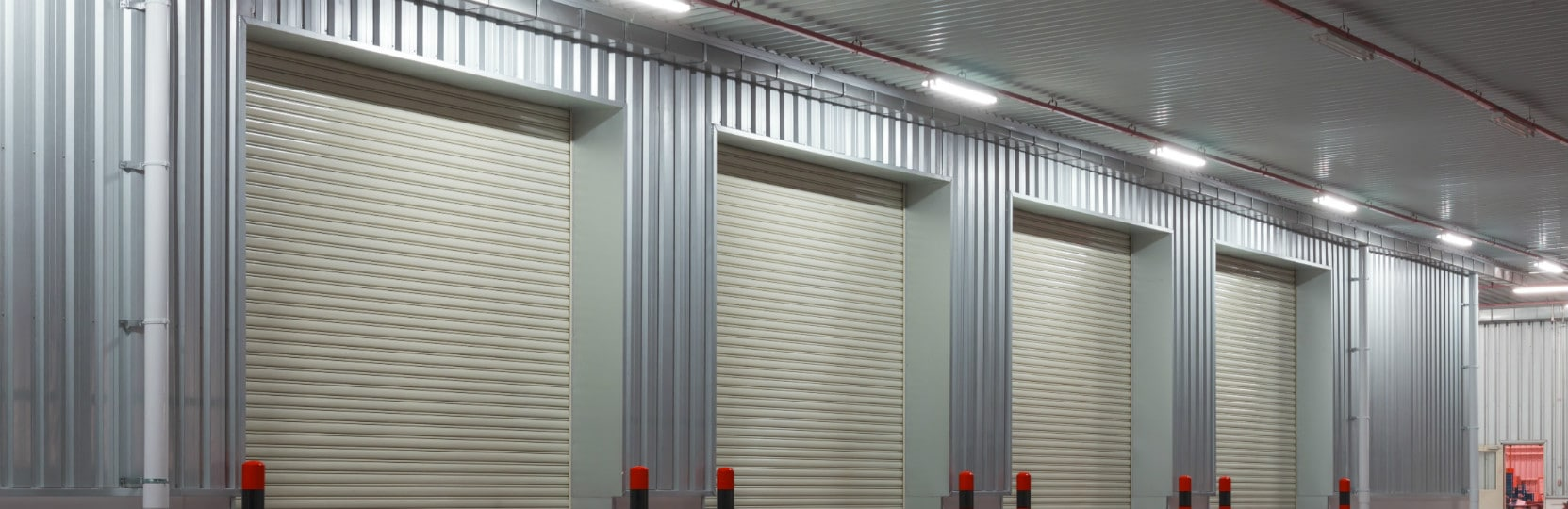 Steel roller garage doors 1