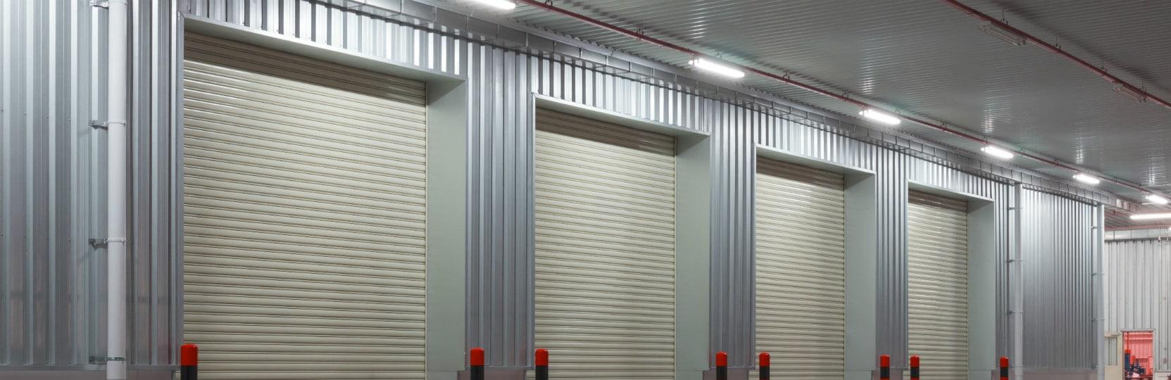 Steel roller garage doors 1