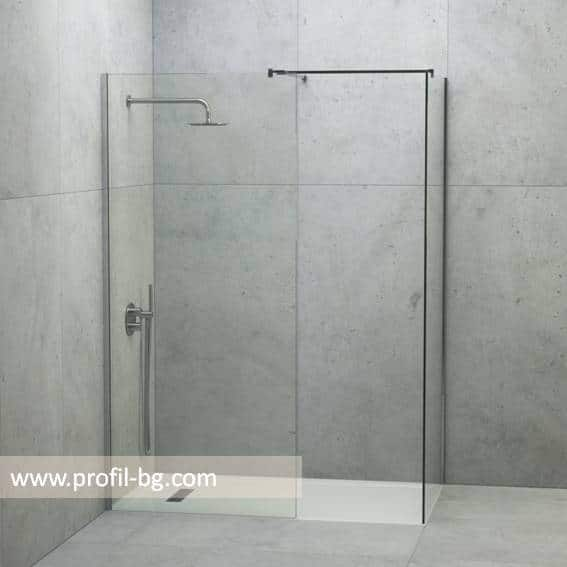 Glass shower cabin and glass shower enclosure 34