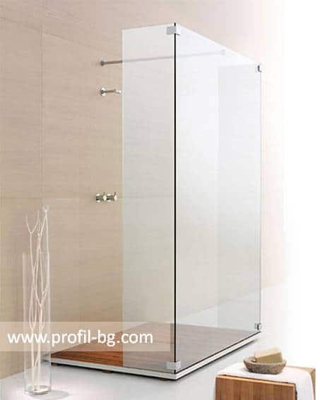 Glass shower cabin and glass shower enclosure 35