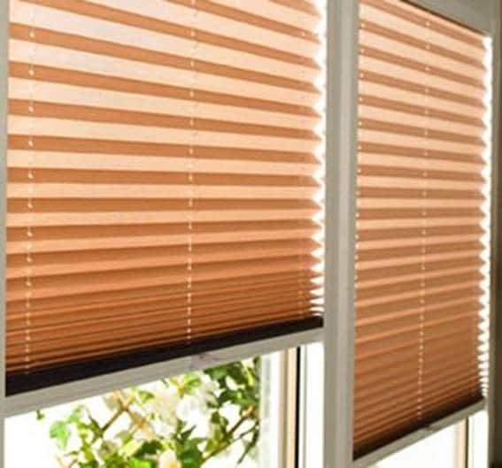 Plisse blinds 2