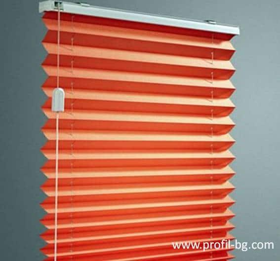Plisse blinds 4