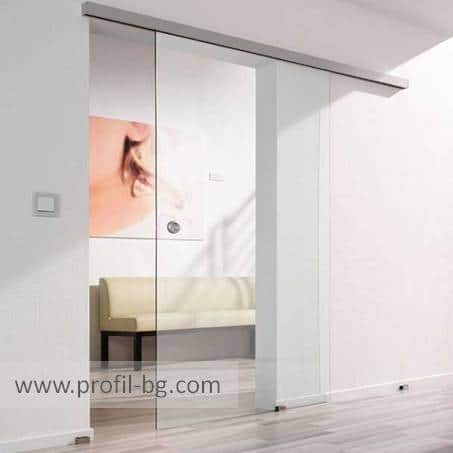 Glass doors and partitions 16