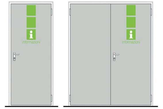 Метални врати за обща употреба 5