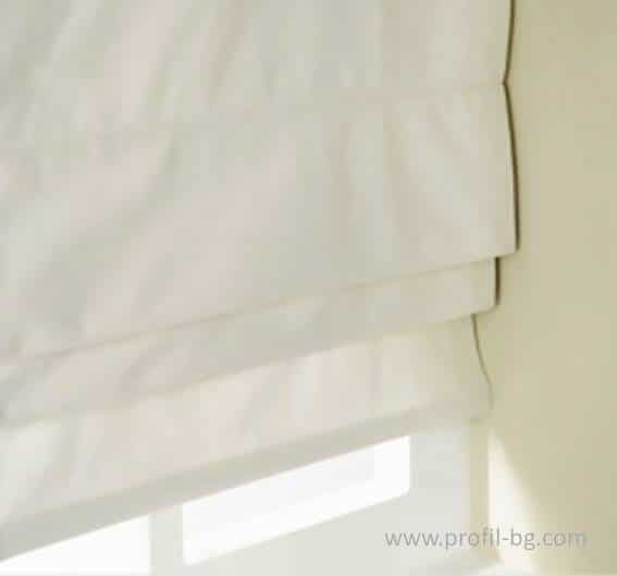 Roman style blinds 5