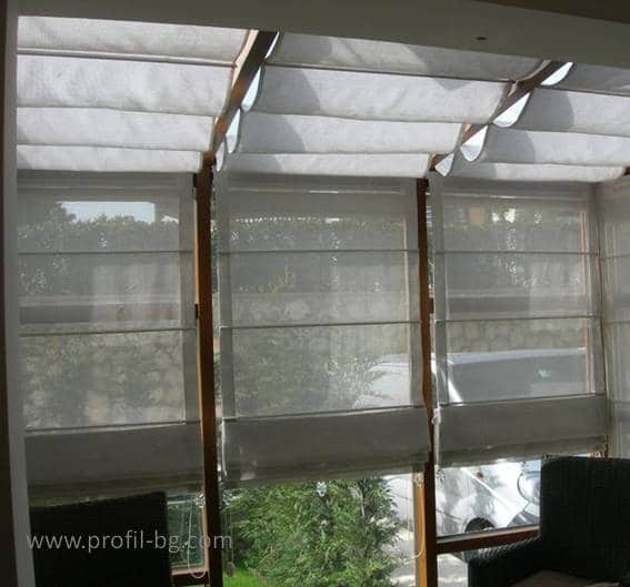 Roman style blinds 4