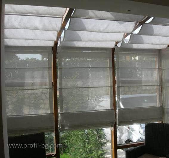 Roman style blinds 4