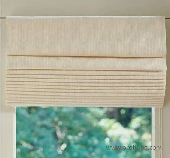 Roman style blinds 6