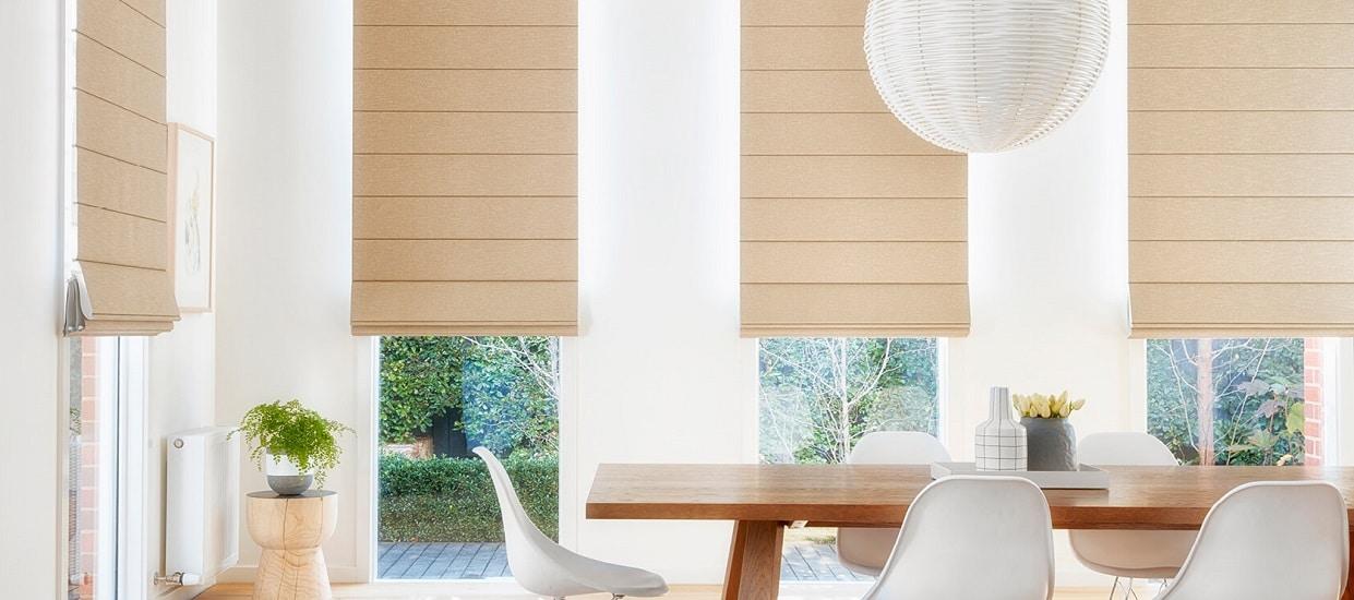 Roman style blinds 1