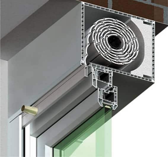 External roller blinds 10
