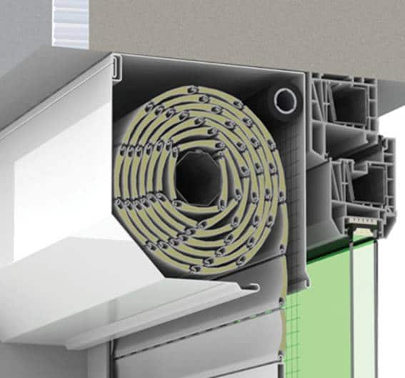 External roller blinds 9