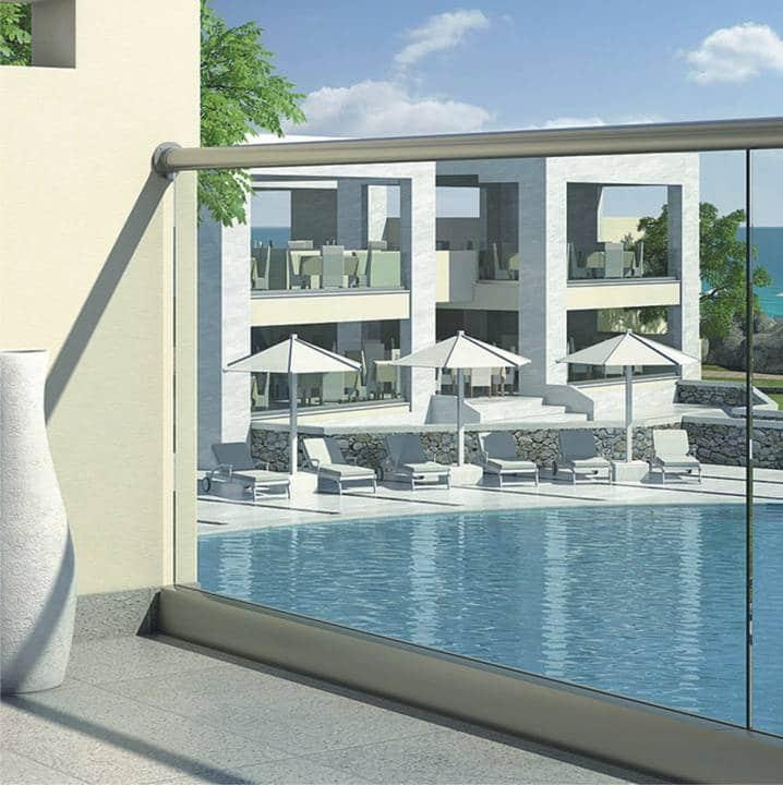 Glass railings & balustrades 6