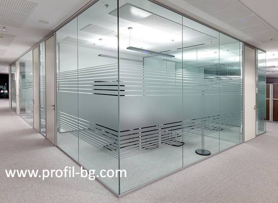 Glass doors and partitions 33