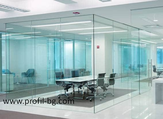 Glass doors and partitions 34