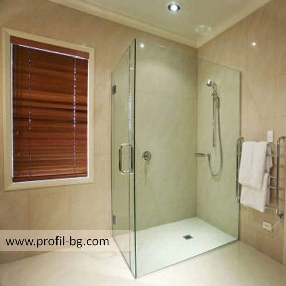 Glass shower cabin and glass shower enclosure 5