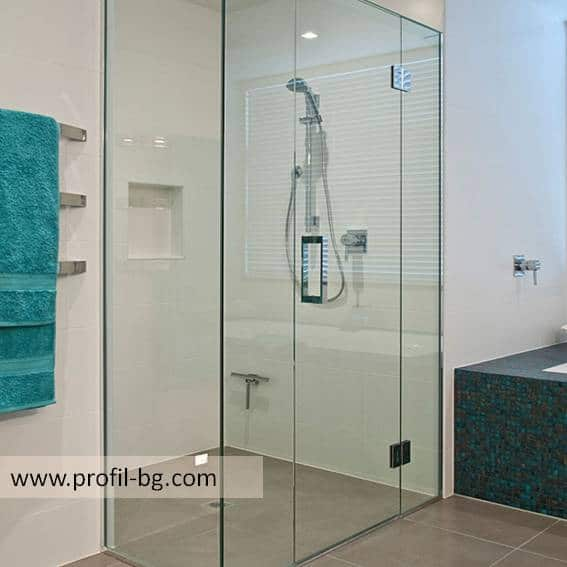 Glass shower cabin and glass shower enclosure 3