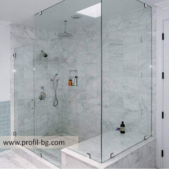 Glass shower cabin and glass shower enclosure 4