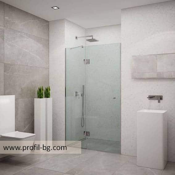 Glass shower cabin and glass shower enclosure 7