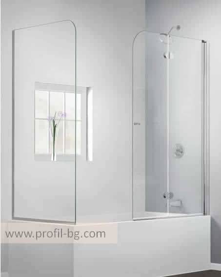 Glass shower cabin and glass shower enclosure 14