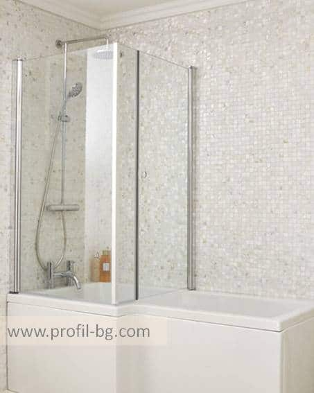 Glass shower cabin and glass shower enclosure 13