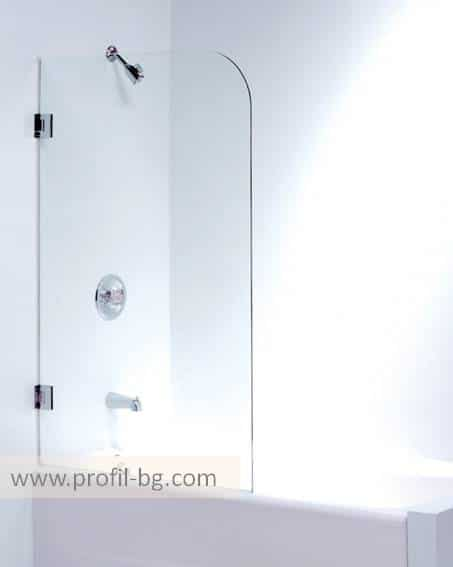 Glass shower cabin and glass shower enclosure 12