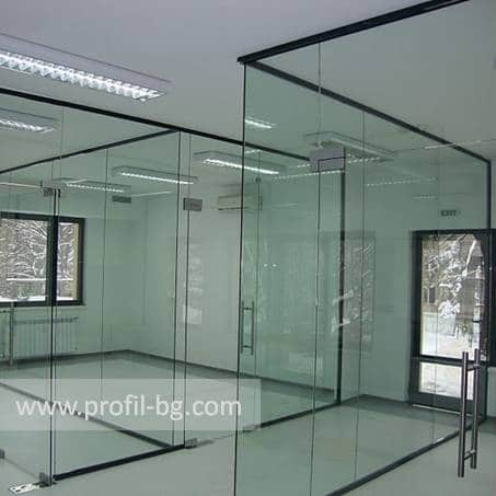 Glass doors and partitions 24