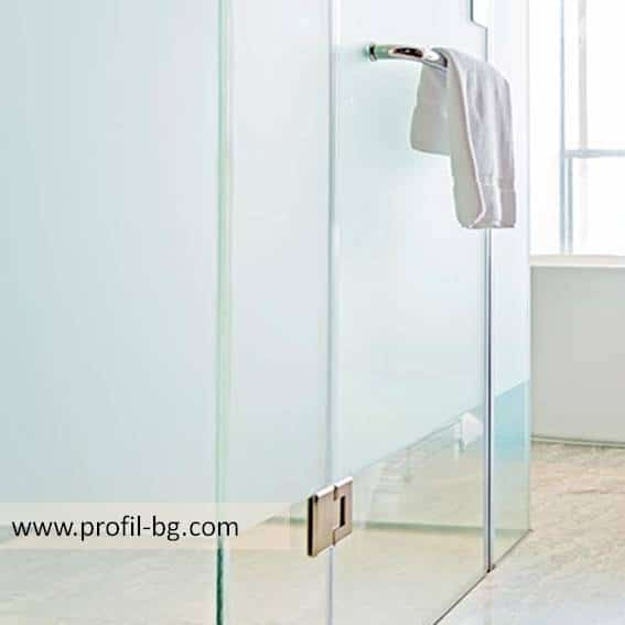 Glass shower cabin and glass shower enclosure 2