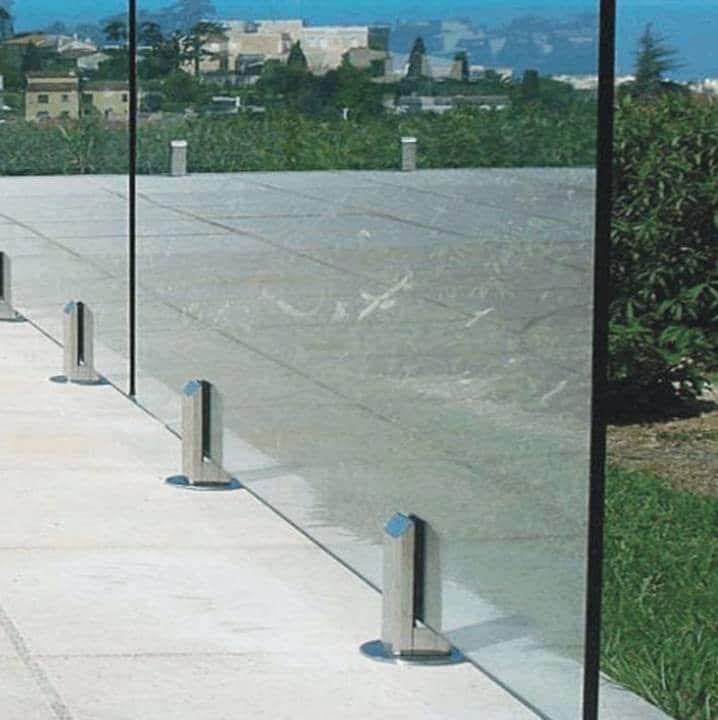 Glass railings & balustrades 9