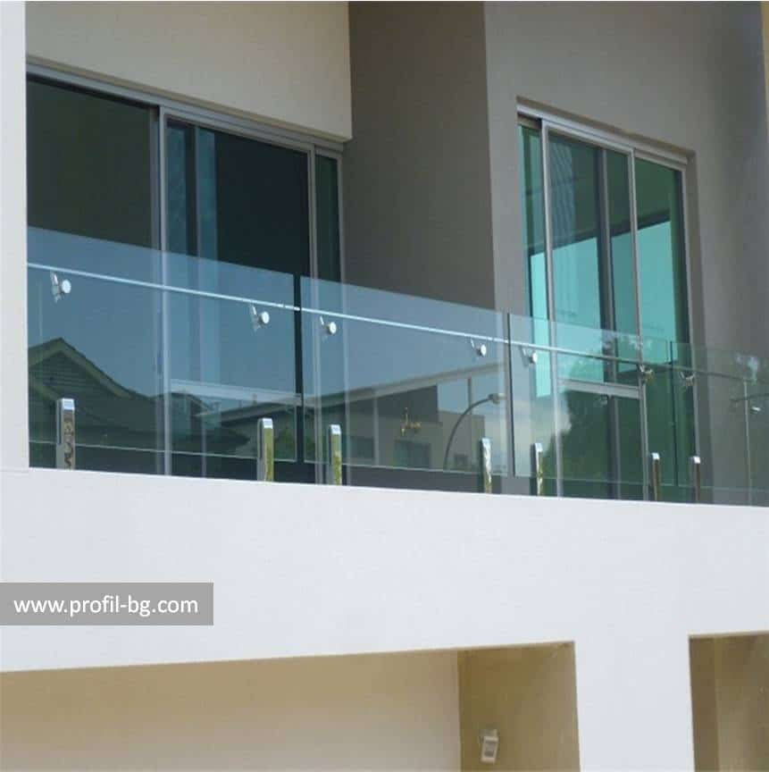 Glass railings & balustrades 28