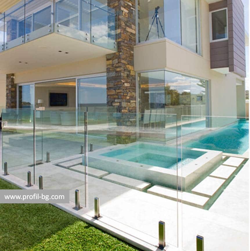 Glass railings & balustrades 27