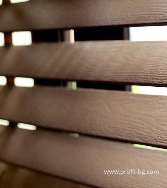 Дървени щори 12