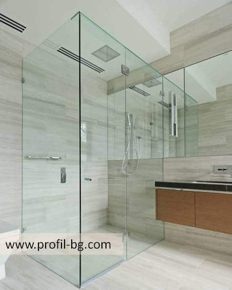 Glass shower cabin and glass shower enclosure 8