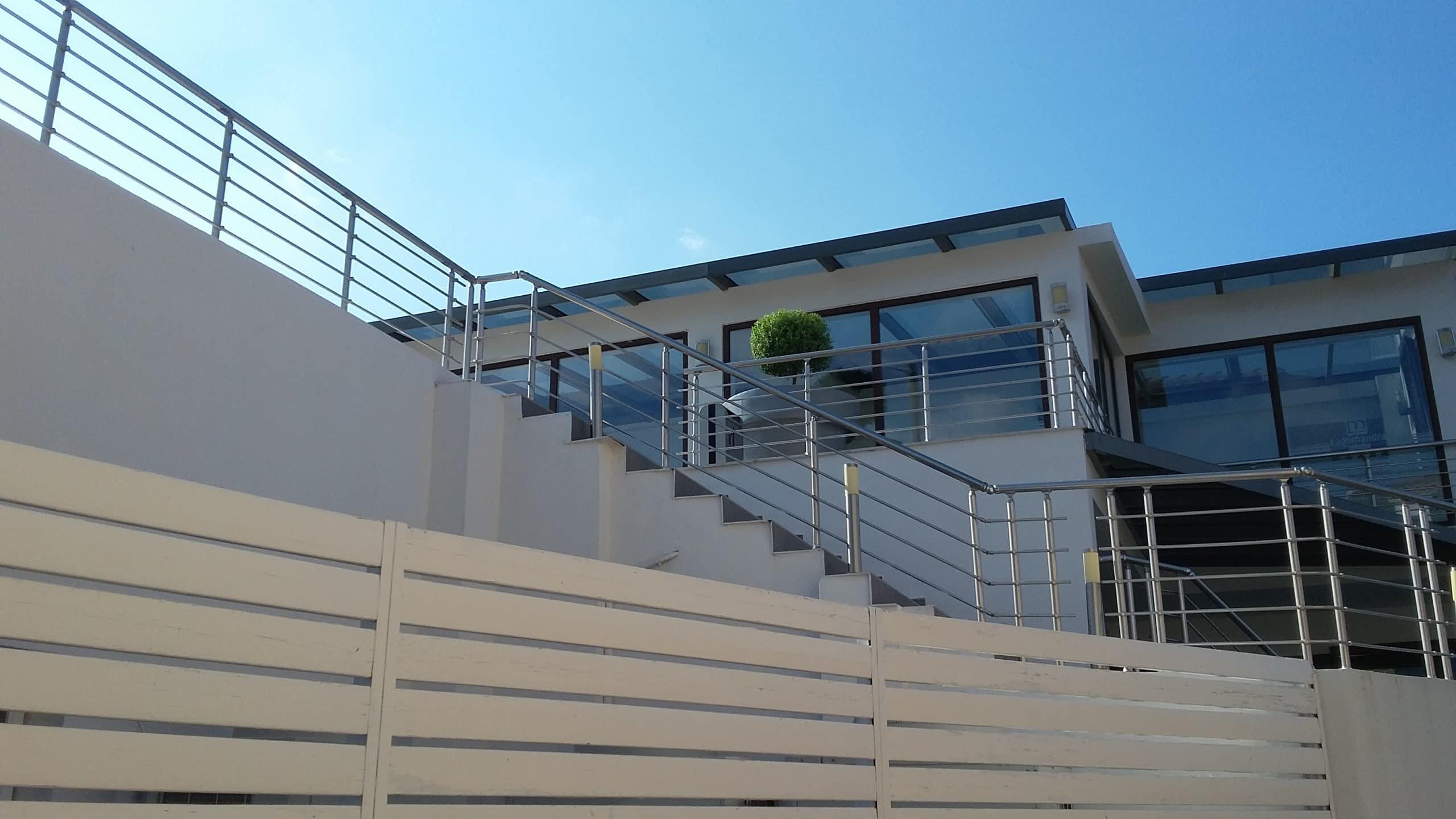 Aluminium railing systems 1