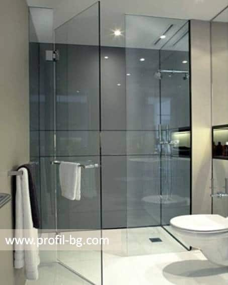 Glass shower cabin and glass shower enclosure 11