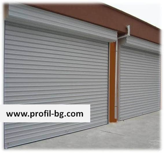 Steel roller garage doors 22